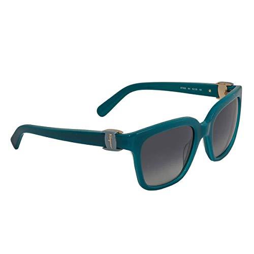 Ferragamo SF782S Gafas de Sol, Verde (Grün), 52.0 para Mujer
