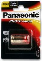 Dynamic Power Panasonic - CR123A - Piles Lithium Batterie Photo Lithium CR123A 3V - Vendu à l'unité