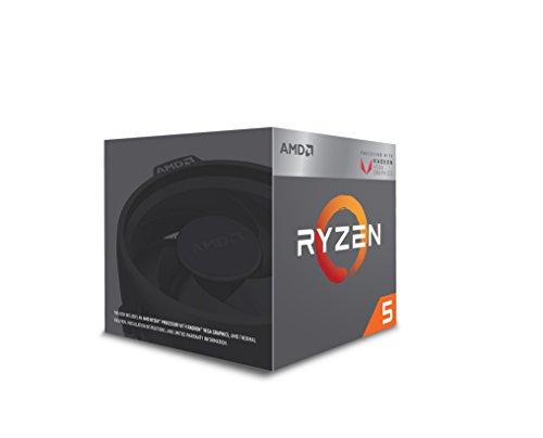 AMD Ryzen 5 3400G Processor (4C/8T, 6 MB cache, 4.2 GHz Max Boost) with Radeon RX Vega 11 Graphics