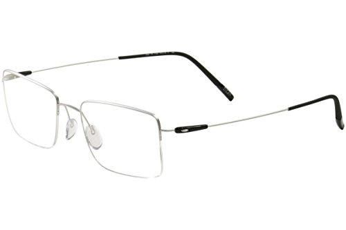Occhiali da vista Silhouette DYNAMICS COLORWAVE NYLOR 5497 Silver Black 51/19/0 uomo