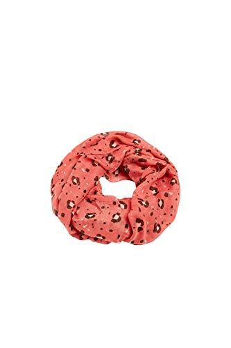 ESPRIT edc by Accessoires Damen 079CA1Q001 Schal, Rot (Dark RED 610), One Size (Herstellergröße:1SIZE)