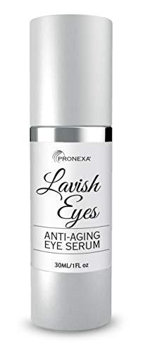 Pronexa Hairgenics Lavish Eyes: Anti-Aging Under Eye Gel Serum to Reduce the Appearance of Dark...
