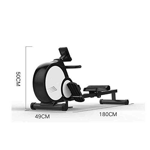 Best Deals! Home Indoor Rowing Machine, Magnetically Controlled Foldable Rowing Machine, Mute Fitnes...