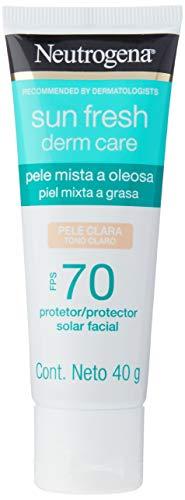 Neutrogena Sun Fresh Oily Skin Pele Clara Fps 70, Neutrogena