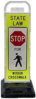 VP-6536-STOP-FB VP-6500 Series Stop in-Street Pedestrian Crossing Systems U-Frame, 32lb U-Base