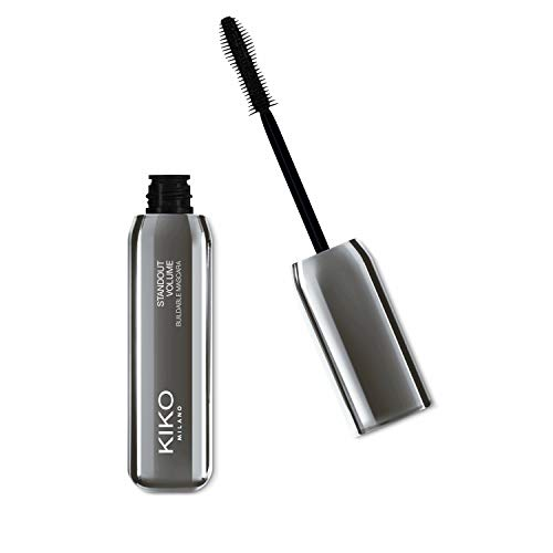 KIKO Milano Standout Volume Waterproof Mascara, 30 g Buildable Black