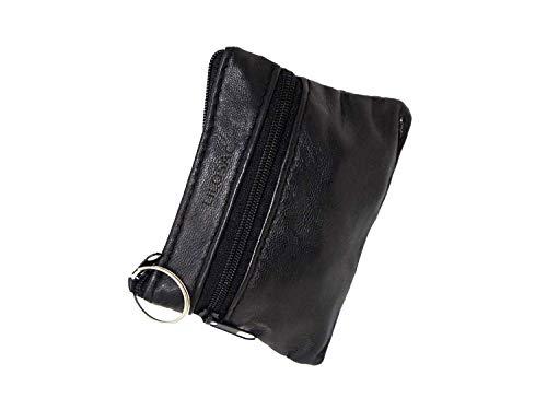 Homme Porte-Monnaie plat Pour poches pantalon ou veste Cuir v/éritable