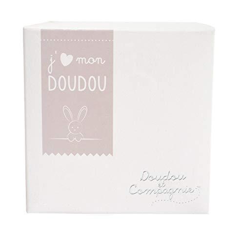 Doudou et Compagnie Ours Mouchoir Boîte Fleur
