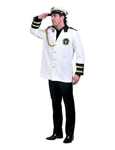 TrendClub100® Mannen kapitein kostuum - Daniel 52/54 M