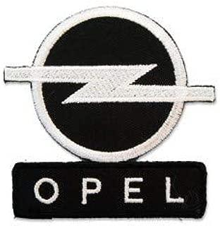 OPEL MOTORSPORT LOGO 10,0 CM Parche Parches Termoadhesivos,Parche Bordado Para la Ropa Termoadhesivo