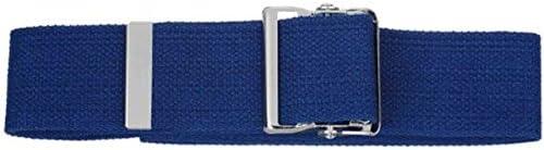 Prestige Medical Cotton Gait Belt with Metal Buckle, Purple