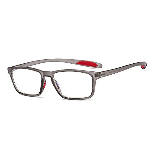 Suertree Blaulichtfilter Lesebrille Computerbrille TR90 Rahmenleser PC Gaming UV Blue Light Blocking Glasses Damen Herren