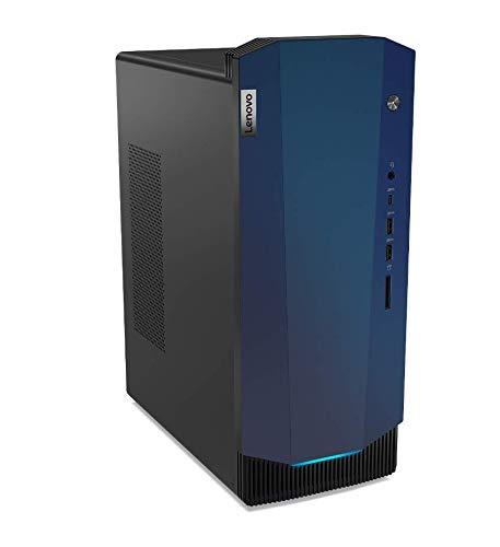 Lenovo IdeaCentre G5 Gaming Ordenador de sobremesa, Procesador Intel Core i5-10400F, 512 GB SSD, 8 GB de RAM, Tarjeta gráfica NVIDIA GeForce GTX 1660 Super 6GB GDDR6, Teclado y ratón USB, Color Negro