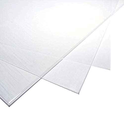 Best 12 inches plastic sheets