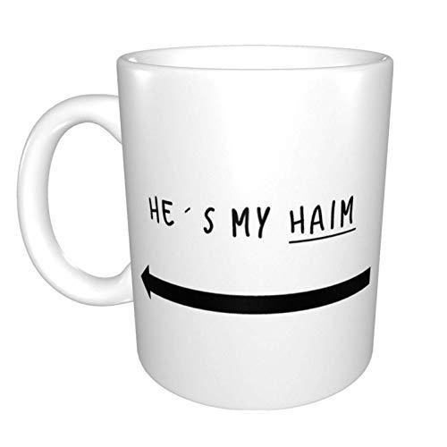 Hdadwy Corey Feldman y Corey Haim - Mirada de amistad en mi cartera para el otro One 3 Home Taza de té de cerámica Taza de café de oficina 10 oz