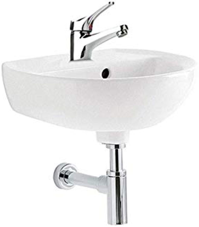 Pozzi Ginori Washbasin Set 40 Hummingbirds 2 White with Pilot Paini Tap and Siphon