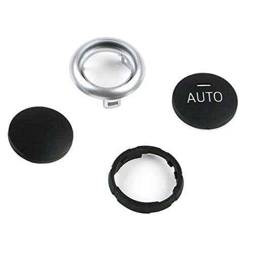 Jaronx for BMW Air Conditioning Knob,Climate Control Knob Button Repair Kit Auto Temperature Adjustment Rotation Knob Switch for BMW 5 Series F10 F11,6 Series F12 F13,7 Series F01 F02, X5 F15, X6 F16