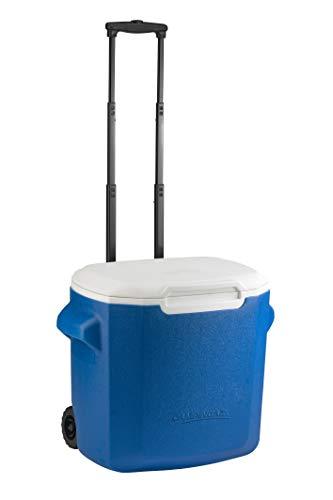 Campingaz Hartschale 28 QT Räder, Hochleistungs-Kühlbox, 26 l, kühlt bis zu 2 Tage, Unisex, Blau, Uni