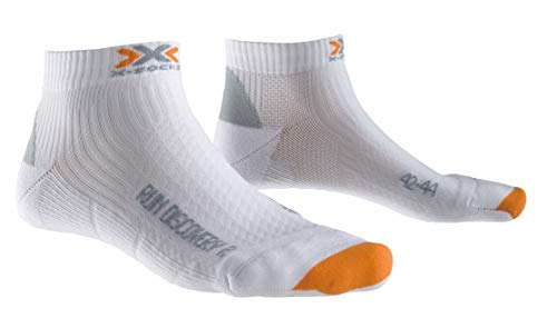 X-Socks Laufsocken Run Discovery New - Calcetines para Hombre, Color Blanco, Talla DE: