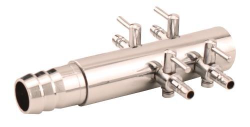 EcoPlus 4-Valve Air Manifold Trumpet Style 1/2