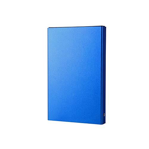 QLPP Disco Duro Externo portátil de 1 TB, USB 3.0, luz indicadora, Capacidad de caché de 8 MB, Velocidad del Disco Duro de 5400rpm, Compatible con Mac, Sistema Windows,A