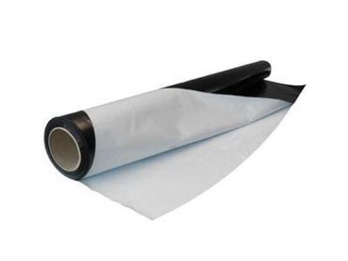 Schwarz Weiß Folie Reflektionsfolie S/W Folie Reflektion Folie S/W lfm 2m Breite