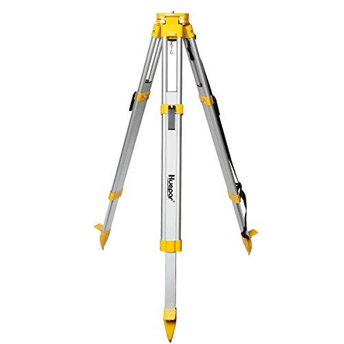 Huepar Professional Baustativ Nivellierstativ 1,65m mit 5/8