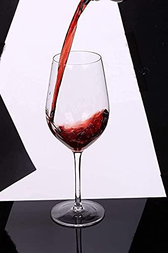 Kristallen wijnglazen Loodvrije mondgeblazen wijnglazen cadeauset Vaatwasser Paklijst: 6 wijnglazen