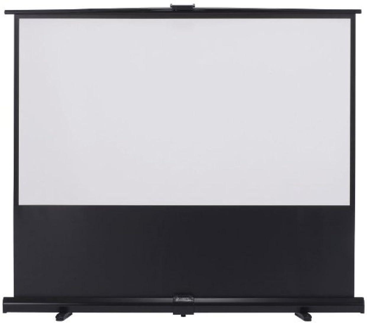 世界的に不足量でKIKUCHI 80インチ床置きタイプ16:9スクリーン GUP-80HDW