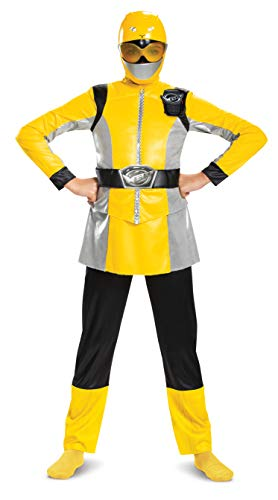 Disguise Yellow Ranger Beast Morpher Deluxe Girls' Costume, M (7-8)