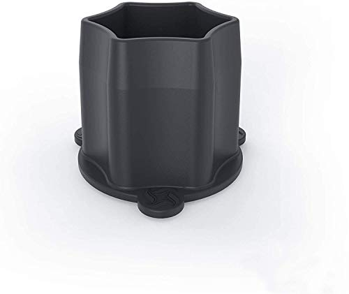 WunderSteam® | Chimenea para cocción al vapor para el Varoma | Para una circulación óptima del vapor | Color: gris | Hecha en Alemania