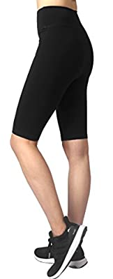 Neonysweets Womens Active Workout Tights Yoga Short Cotton Half Tights