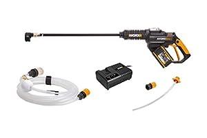WORX WG630E.1 18V (20V MAX) 4.0Ah Cordless Brushless Hydroshot Portable Pressure Cleaner by WORX