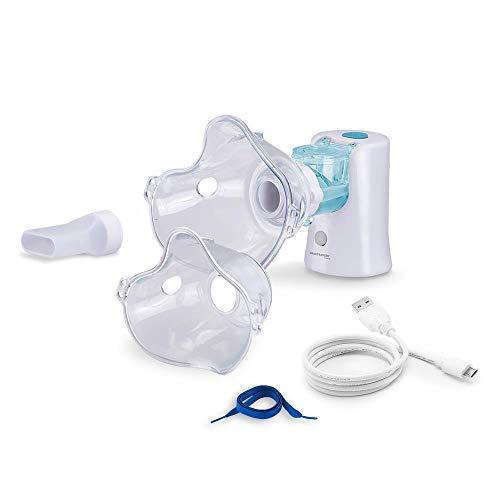 Inalador Portátil Mesh Multilaser Adulto/Infantil USB Branco - Hc170, Multilaser, Health Care HC170, Branco
