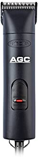 Andis 1-Speed Detachable Blade Clipper - Professional Animal/Dog Grooming, Black, AGC
