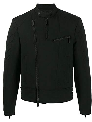 DSQUARED2 Guattierte Jacke Typ Biker S71AN0131S36258 schwarz, Mantel., Schwarz 48