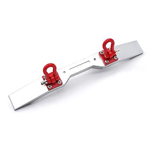 TOOGOO RC Auto RC Modell Auto & LKW Upgrade Teile Metall Frontsto?Stange für WPL B14 B16 Q60 Q61 1/16 RC Trail Crawler Upgrade Teile