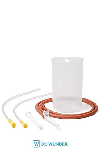 Dr. Wunder Darmeinlauf-Set 1-Liter inkl. 2x Darmrohr: Komplettes Irrigator-Set - 2x Einlaufhilfe...