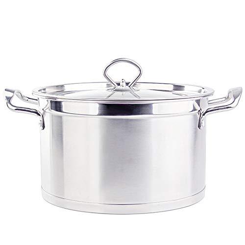 DHXYII Koekenpan Capaciteit Soeppan Emaille Thuis Verdikt Stereofonisch Soeppan Inductie Cooker Soep Kookpot Keukenpotten 18cm