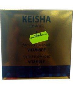 Keisha Perfect Glow Skin Lightening Vitamin E Soap 200g from Keisha Cosmetics