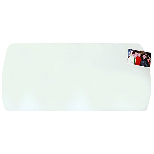 """Artistic 14""""x30"""" Krystal View Desk Pad Curved for Workstations, Clear (60-7-5)"""