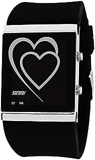 Skmei Casual Watch For Unisex Digital Rubber - STD-WHSKM1011