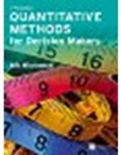 Quantitative Methods for Decision Makers (5th Edition) by Wisniewski, Mik (2010) Paperback