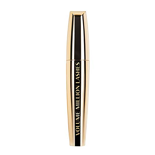 L'Oréal Paris Volume Million Lashes Mascara schwarz, Wimperntusche für extra Volumen und Defintion, mit Wimpern-Multiplizier-System (1 x 10,7ml)