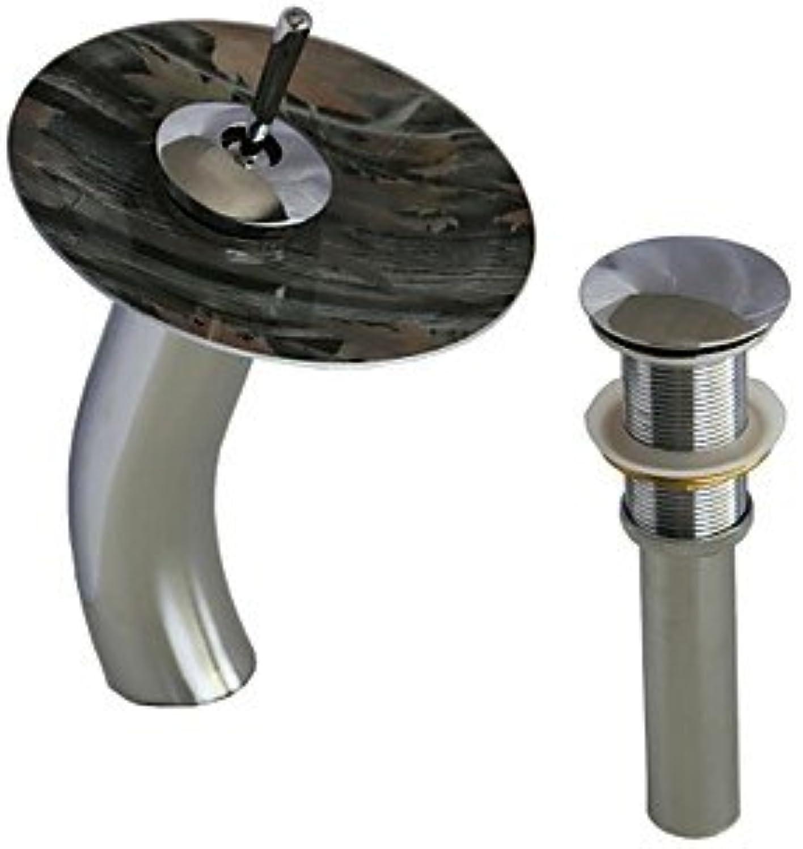 HZZymj-Keramik-Ventil universal Wasserfall Einlochmontage Chrom Waschbecken Wasserhahn