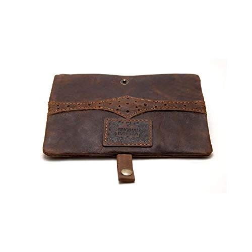 Original Kavatza Antik Braun Leder Mini Tasche Mary Poppins MP15