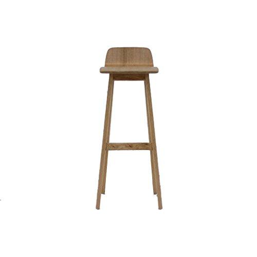 XAGB Taburetes de Bar de Madera Maciza, taburetes de Bar Retro Sillas de Madera Maciza sillones taburetes de Bar de Restaurante taburetes Altos Altura de sillas de decoración Frontal