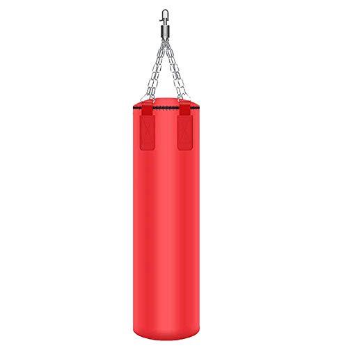 QinnLiuu Boxsack, Mit Hängender Kette Und Drehbarer Basis, Schwerer Boxsack, Kickboxen, Karate, Fitnesstraining, Training, Fitness, Für Erwachsene,2,80CM