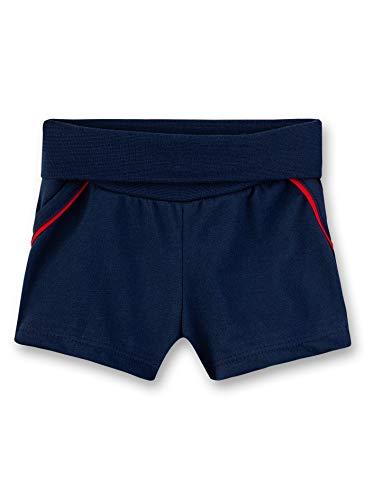 Sanetta Baby-Jungen Fiftyseven Kurze Hose Shorts, Blau (Deep Blue 5993), 80 (Herstellergröße: 080)