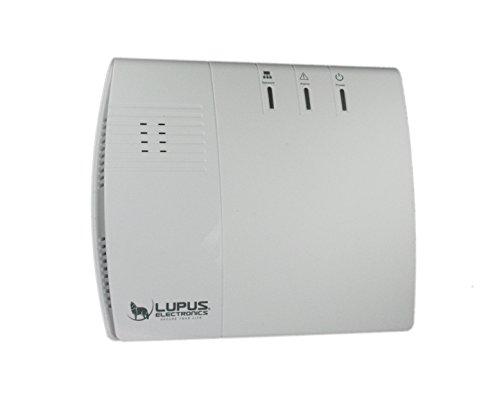 LUPUSEC XT1 SmartHome Funk Alarmanlage, Basisstation, max. 20 Melder, Einbruchmeldeanlage, fernsteuerbar via Browser, Tablet oder Smartphone, IP-Kameras integrierbar, Wachschutz aufschaltbar